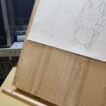 作画用の傾斜台